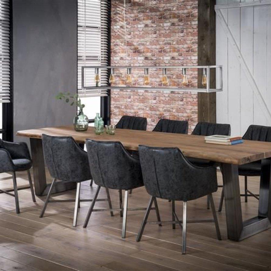 Eettafel Britt acaciahout 300 x 100 x 77 cm