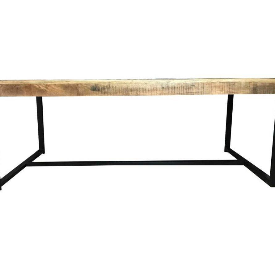 Eettafel Luqa 180 x 90 cm Mango