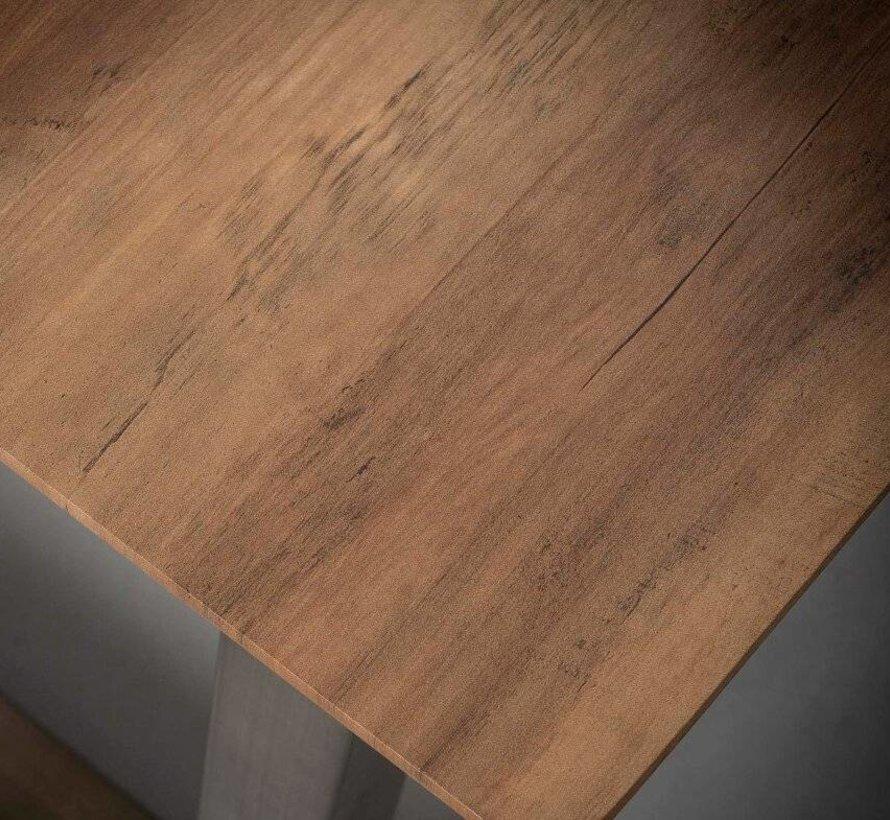 Eettafel MDF Jolien 160 x 90 x 77 cm