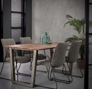 Eettafel MDF Jolien 160 x 90 cm