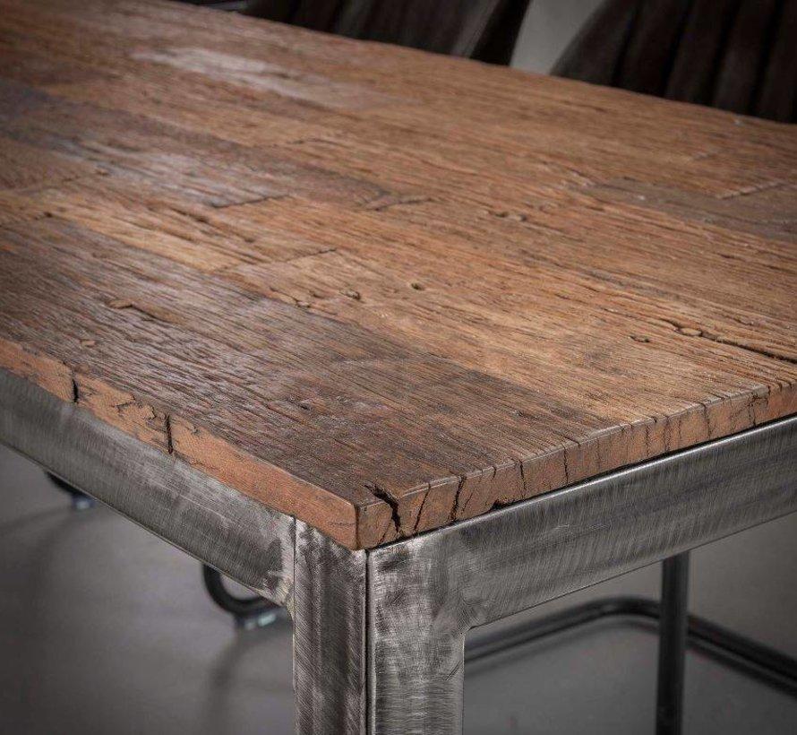 Eettafel Rafaël 210 x 90 cm Hardhout