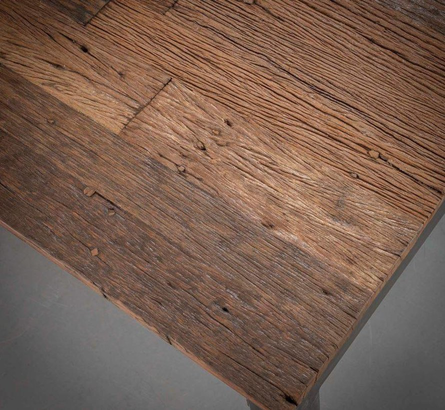 Eettafel Rafaël 180 x 90 x 76 cm Hardhout