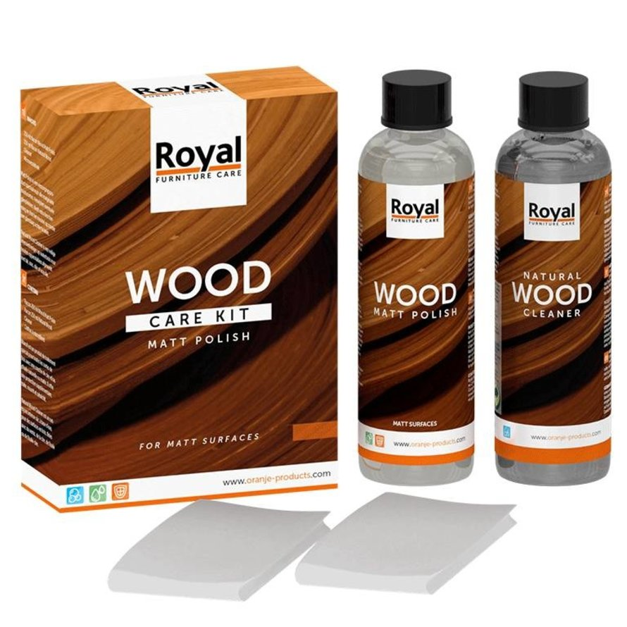 Hout care kit 2 x 250 ml
