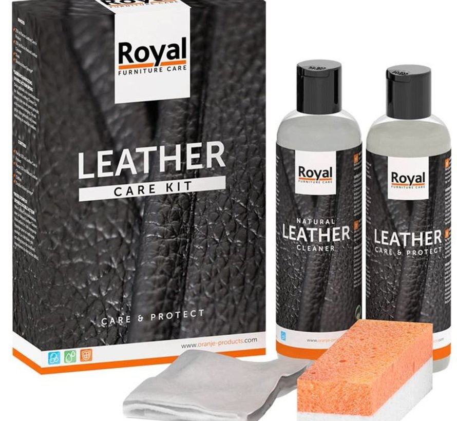 Leder care kit 2 x 75 ml