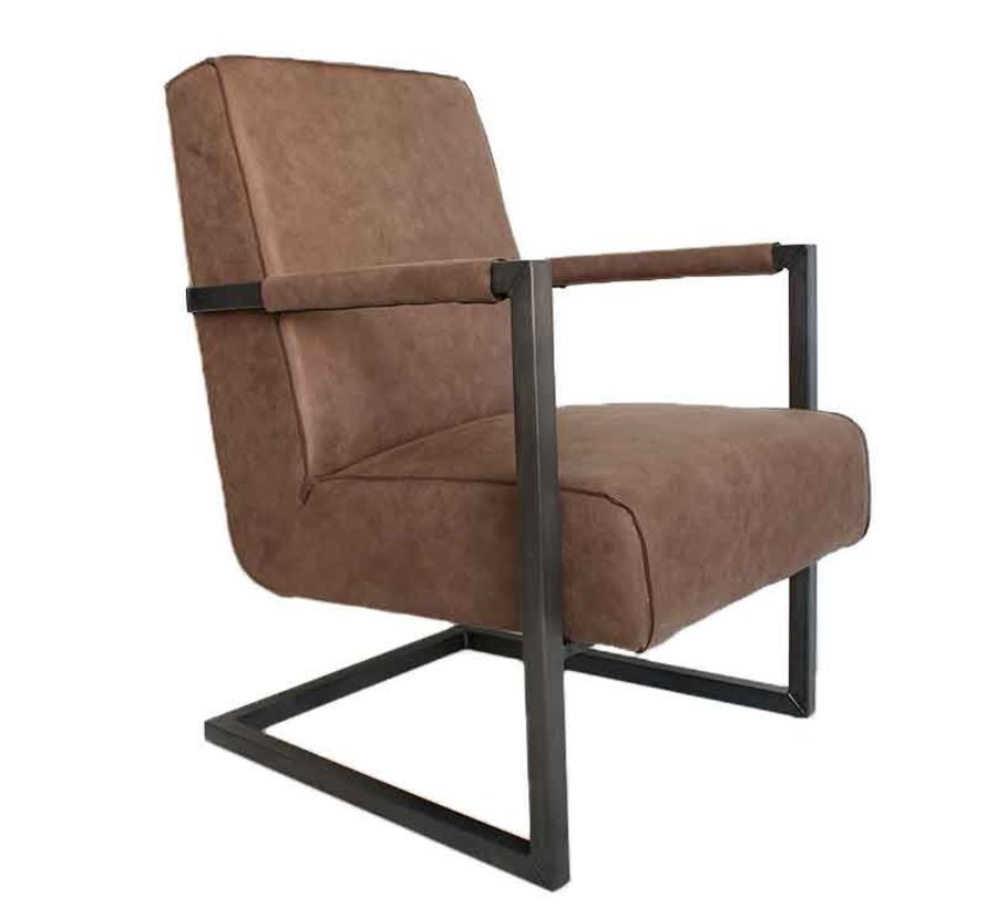 Fauteuil Bruce taupe