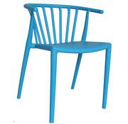 Terrasstoel Aimy blauw