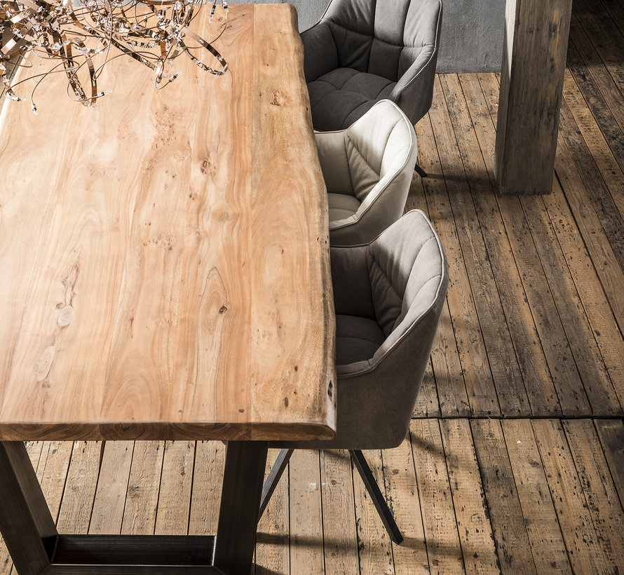 Eettafel Britt Acacia 300 x 100 x 77 cm