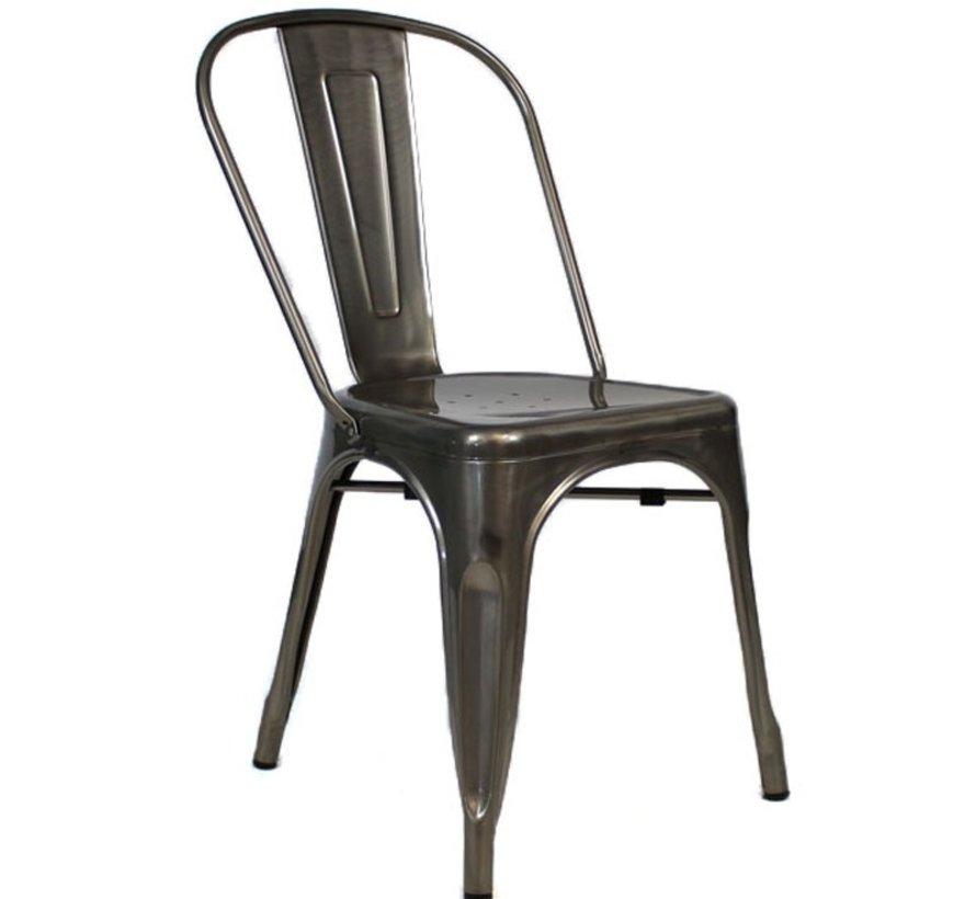 Retro café stoel metaal