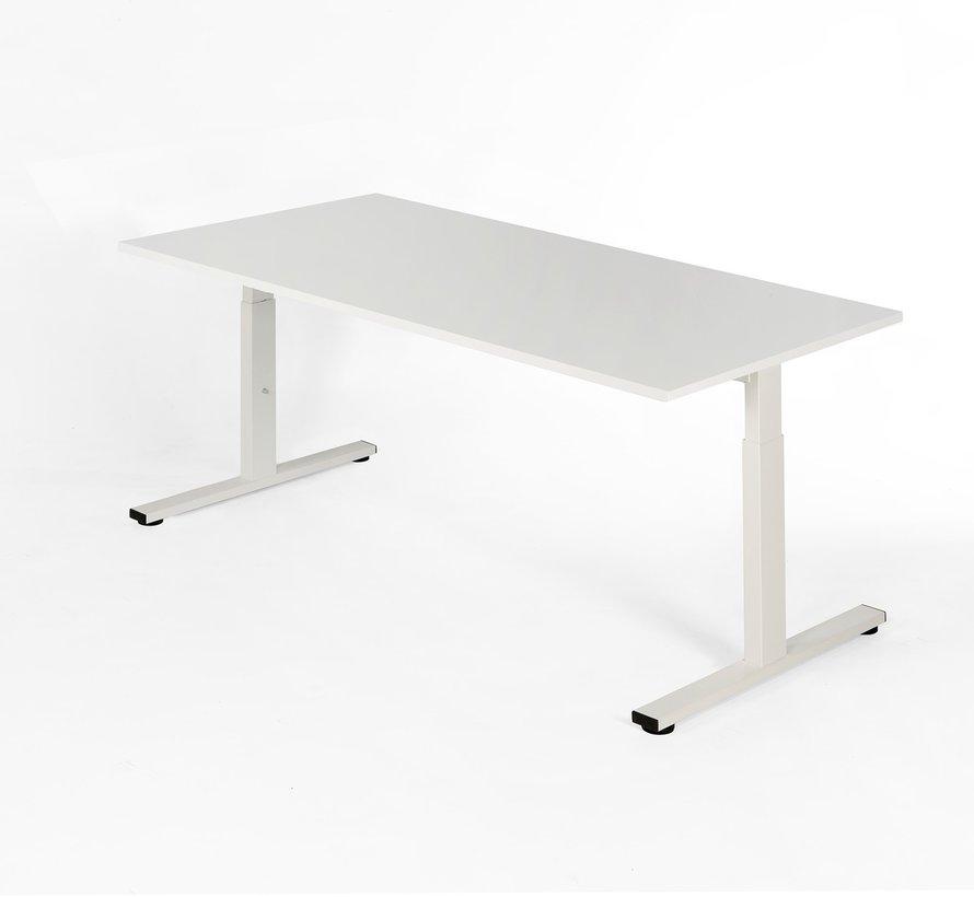 Bureau - in hoogte verstelbaar - 120x80cm - Wit