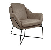 Fauteuil Valencia taupe