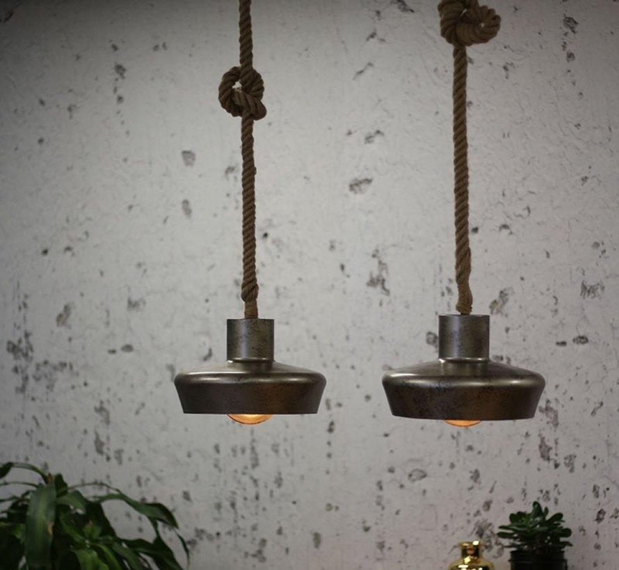 Hanglamp Industry Lima - 2 lampen