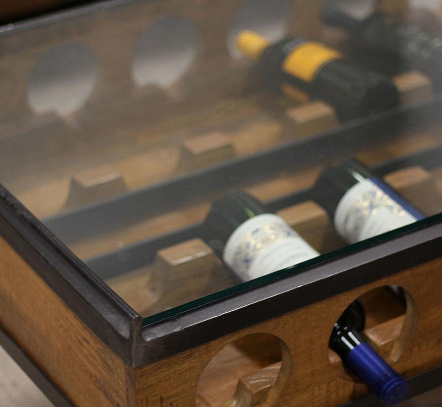 Salontafel Bordeaux 120 x 67cm