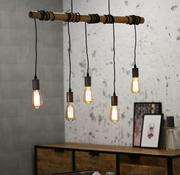 Bronx71 Hanglamp Bamboe 5L