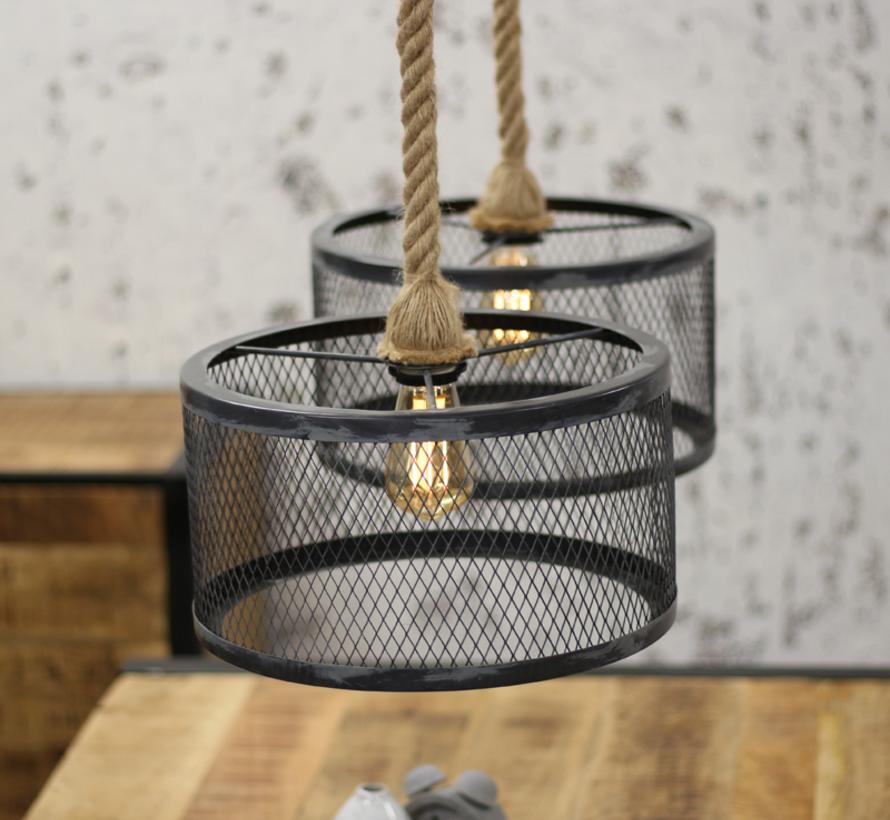 Hanglamp Rope Industry - 2 lampen