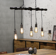 Bronx71 Hanglamp Metal Pipe 5L