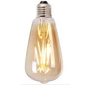 Bronx71 LED Lichtbron Druppel gold 14,5 cm dimbaar