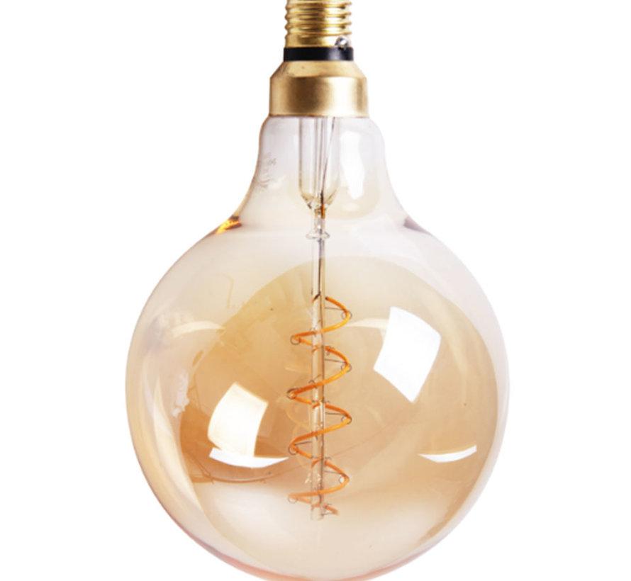 LED Lichtbron Round Gold Ø15 cm dimbaar - 5 watt
