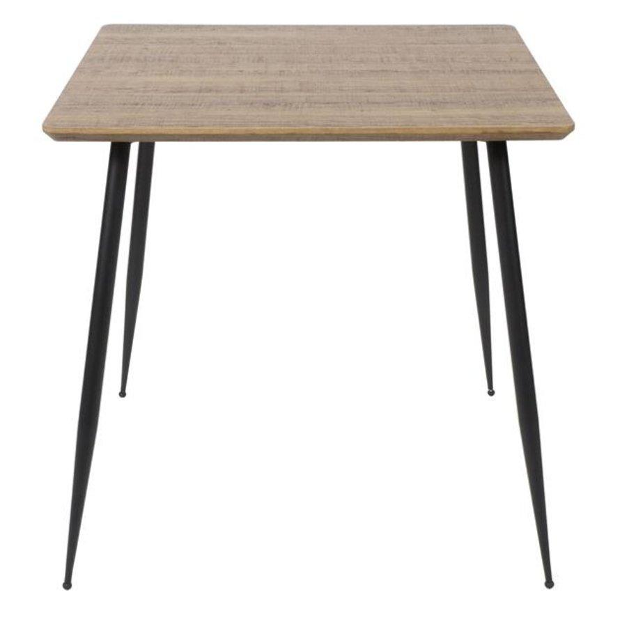 Horeca Eettafel Tony MDF 80 x 80 cm