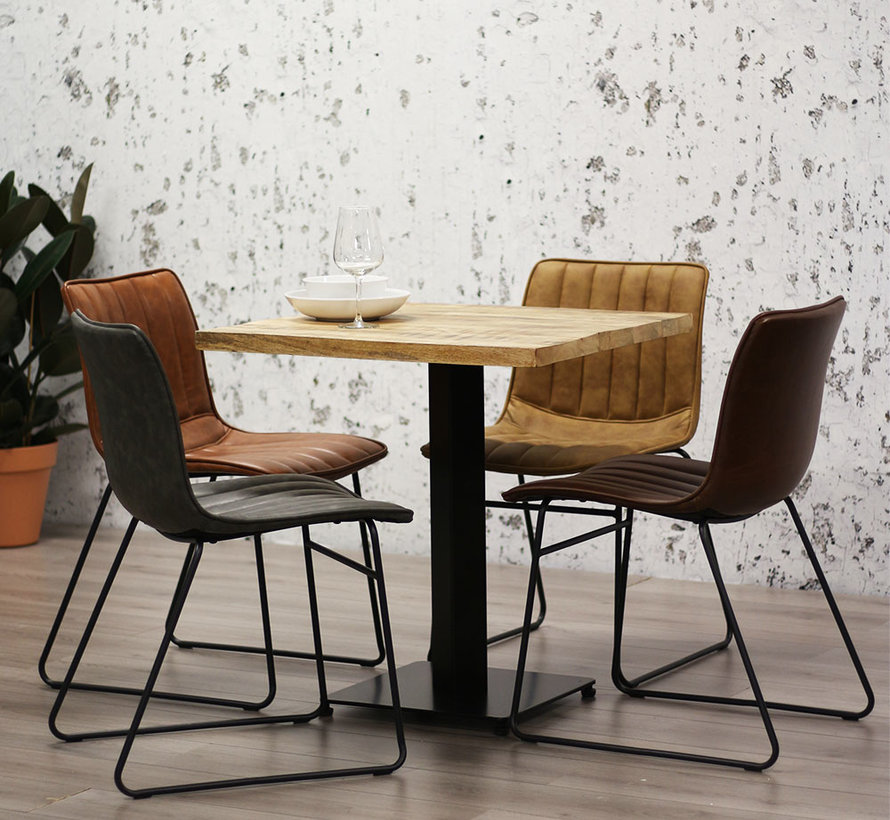 Horeca bistrotafel Industry 60 x 60 cm