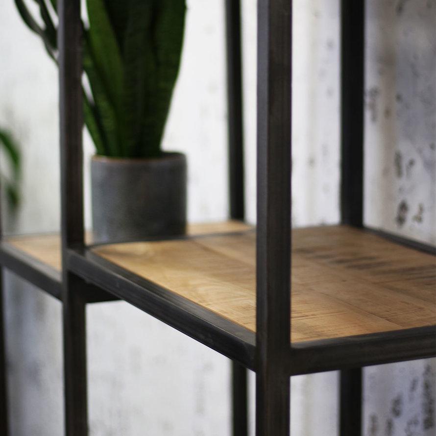 Industriële kast Kodi mangohout 90 x 190