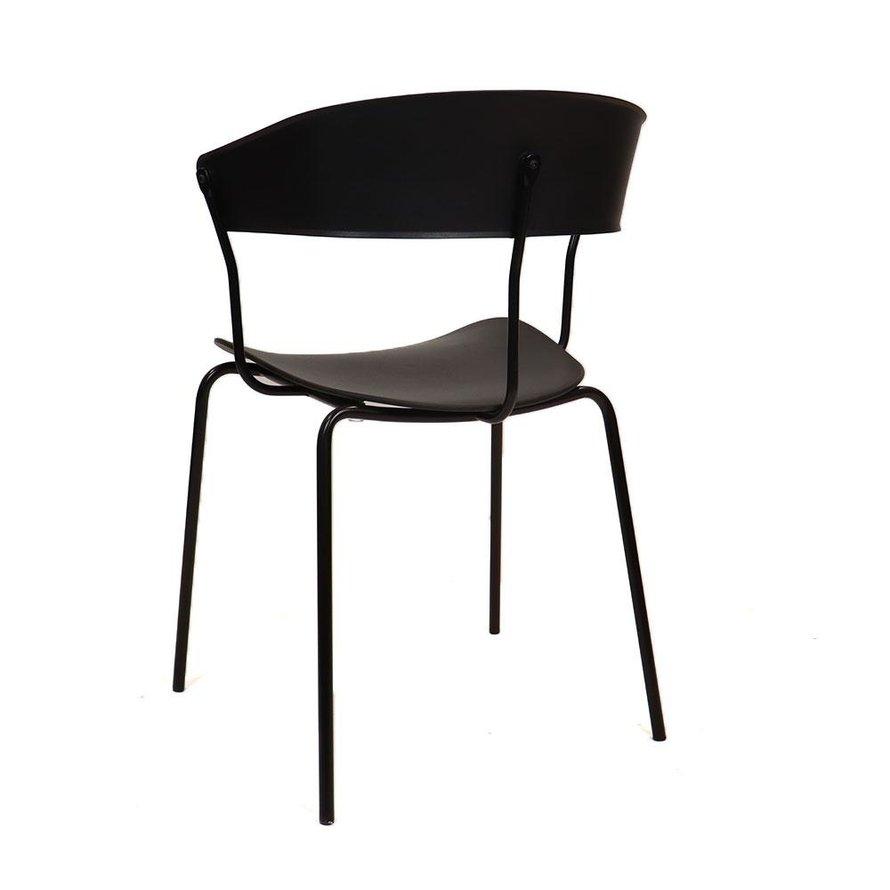 Horeca stoel Denver zwart Scandinavisch design