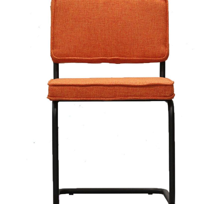 Horeca stoel Boaz Oranje textiel