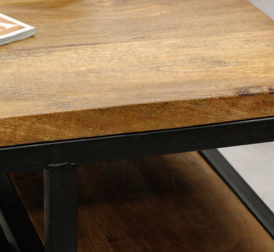 Salontafel Devon mangohout 60 x 60 cm