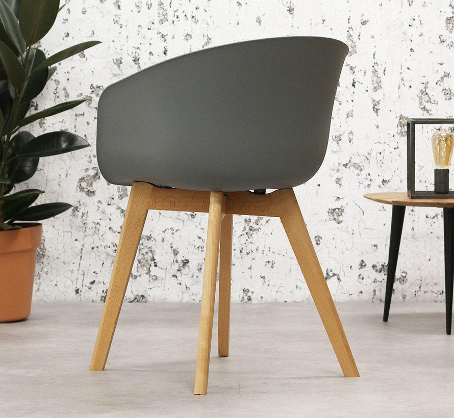 Horeca stoel Tyler grijs Scandinavisch design