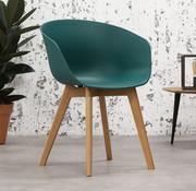 Stoel Tyler groen Scandinavisch design