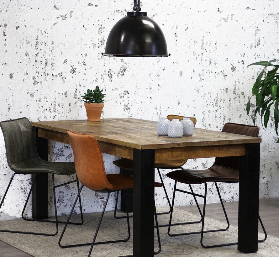 Eettafel Gio mangohout 200 x 100 cm