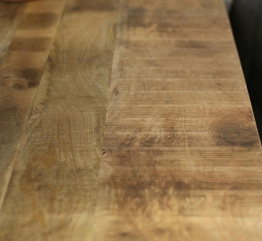 Eettafel Gio mangohout 220 x 100 cm