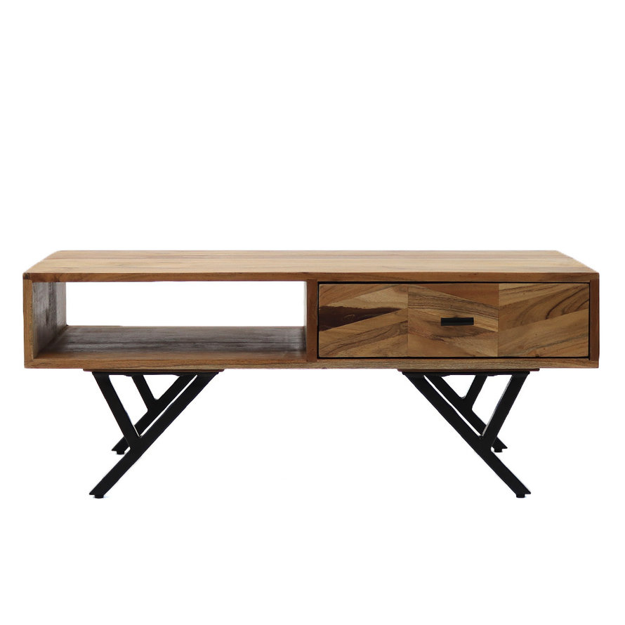 Horeca salontafel Hunter acaciahout 90 x 45 x 36 cm