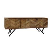 Bronx71 Tv-meubel Hunter acaciahout 130 x 40 x 51 cm