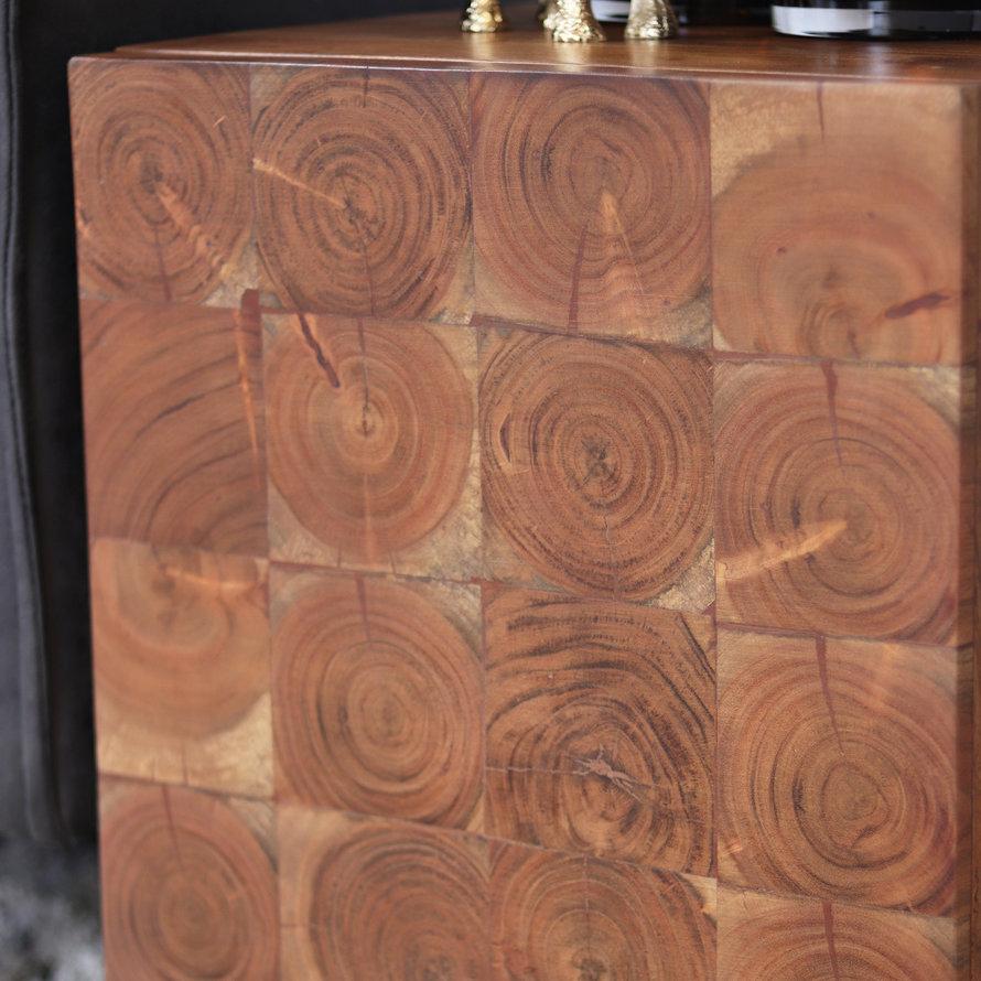 Nachtkast Forrest acaciahout 51 x 36 x 40 cm