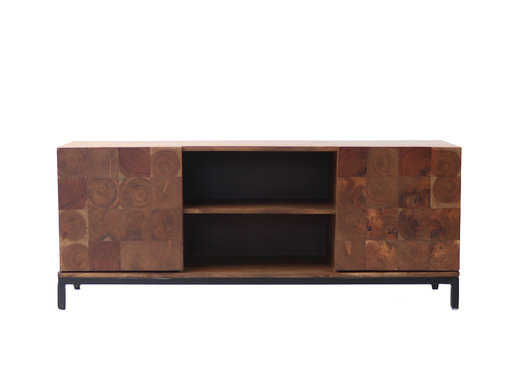 Bronx71 Tv meubel Forrest acaciahout 130 x 41 x 53 cm