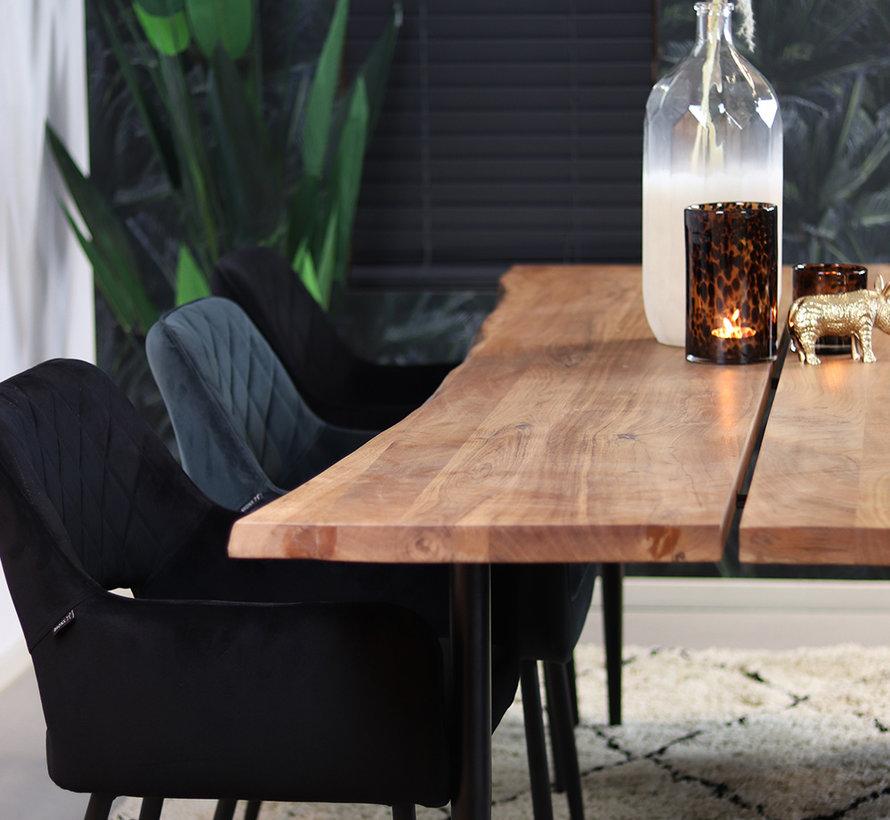 Horeca eettafel Richy acaciahout 230 x 100 cm