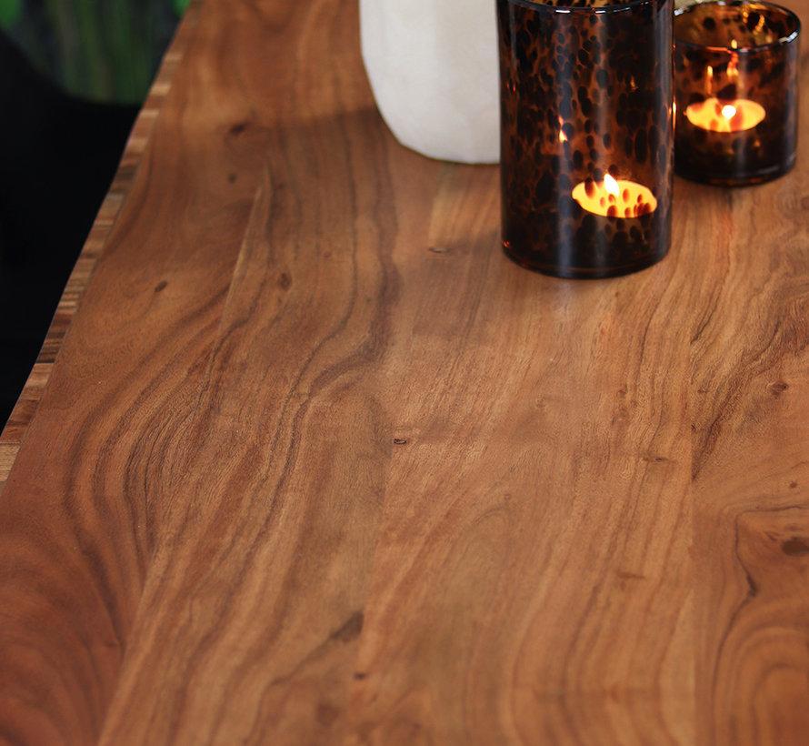 Eettafel Forrest acaciahout 160 x 85 cm