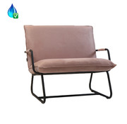 Bronx71 Fauteuil Ohio roze polyester