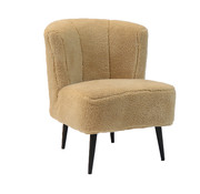 Bronx71 Fauteuil Lyla taupe teddy