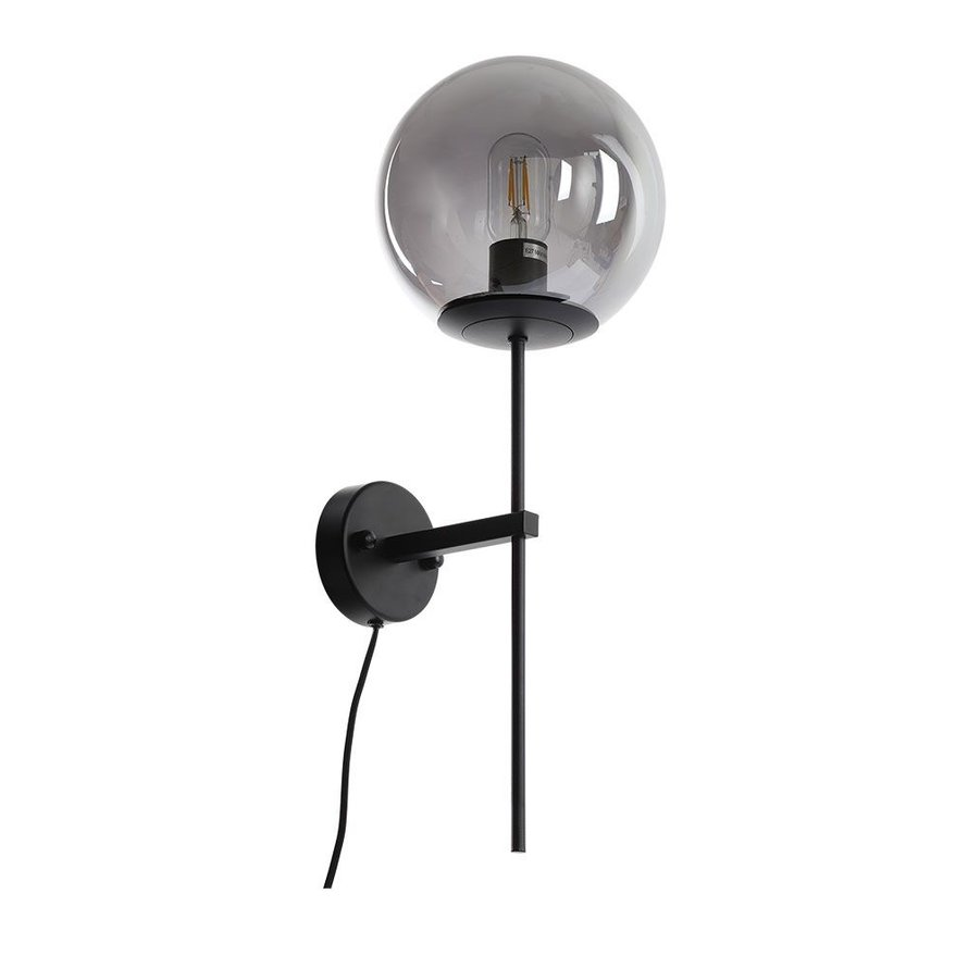 Wandlamp Vita Smoke 1-lichts