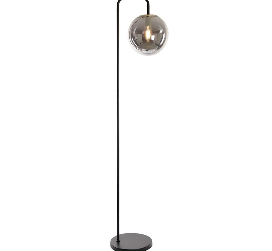 Vloerlamp Ebba Smoke 1-lichts