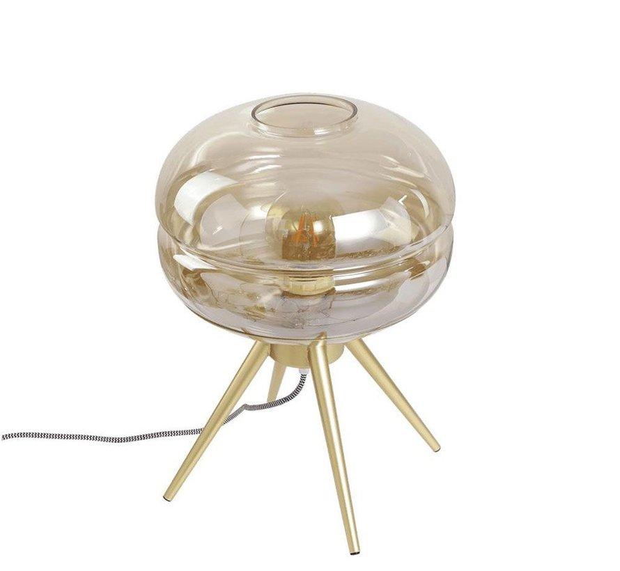 Tafellamp Jody Amber 1-lichts