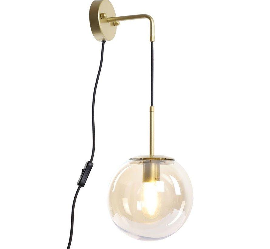 Wandlamp Else Amber 1-lichts