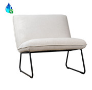 Bronx71 Fauteuil Merle wit polyester