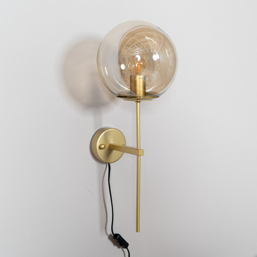 Wandlamp Up Amber 1-lichts