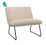 Bronx71 Fauteuil Merle taupe polyester