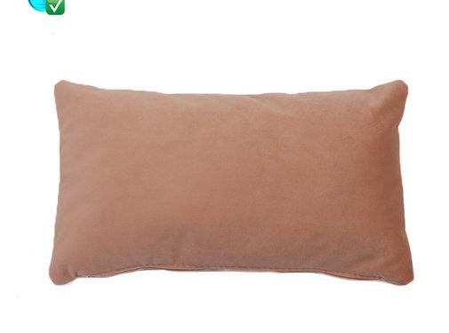 Bronx71 Kussen Anna roze velvet 25 x 45 cm