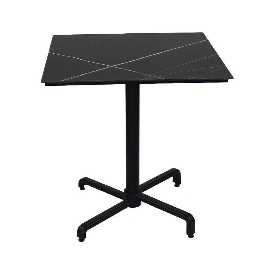 Inklapbare tafel HPL Nicole 70 x 70 cm