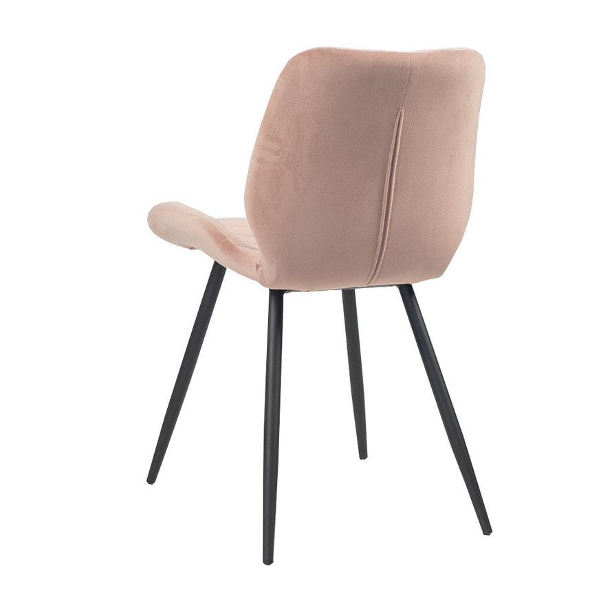 Horeca stoel Toby roze velvet
