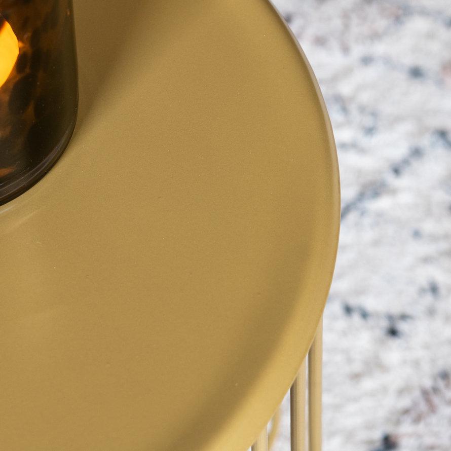 Horeca bijzettafel Jack goud